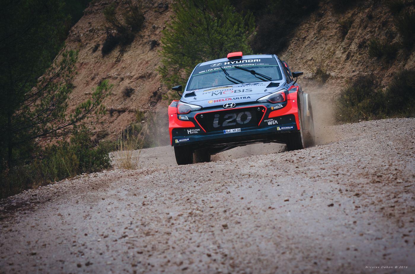 HYUNDAI i20 WRC Racc Espagne 2016