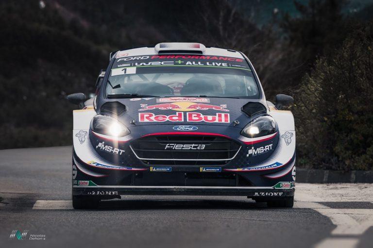 Photo du rallye Monte-Carlo 2018 Ford Fiesta WRC Ogier S./ Ingrassia J.
