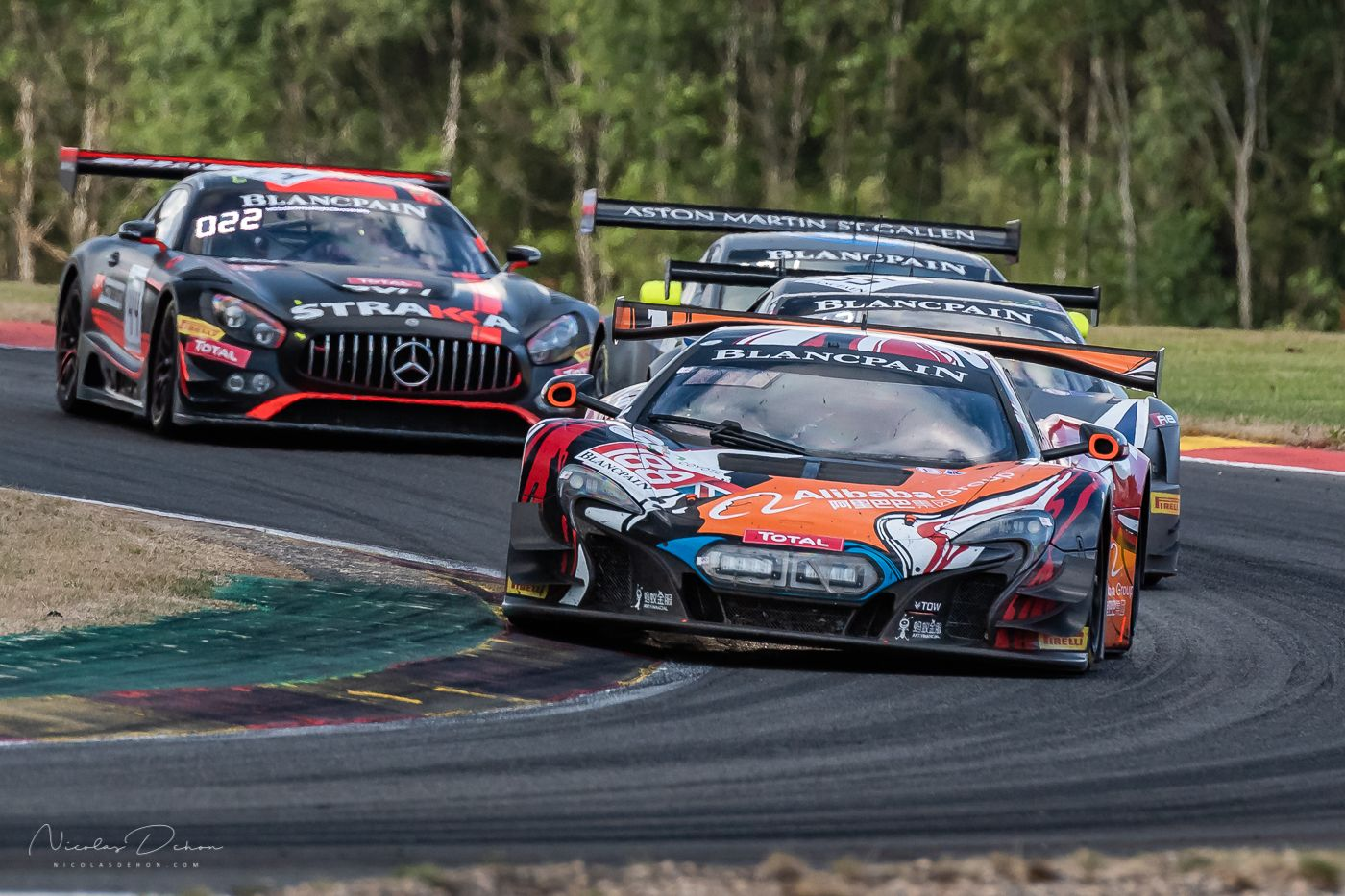 Total 24h de Spa-Francorchamps 2018-McLaren 650 S GT3