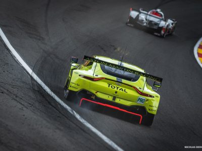 Wec 6h de spa-Francorchamps 2019 Aston Martin Racing